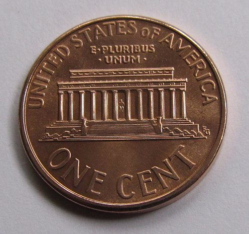 1995 1 Cent - Lincoln Memorial Cent