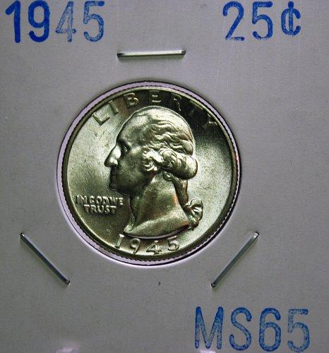 1945 Washington Quarter