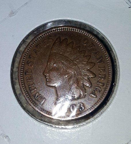 Nice 1903 Indian Head