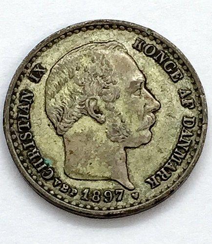 1897 Denmark 10 Ore