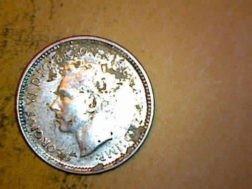 Australia 1942 3 Pence Silver