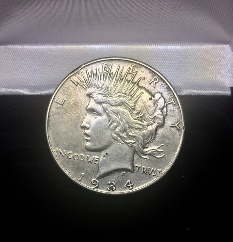 1934-P Peace Dollar XF to AU Details!