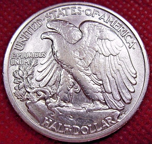 1935 P Walking Liberty Silver Half Dollar