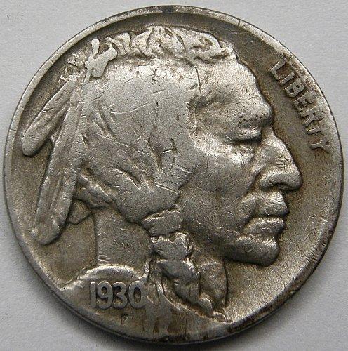 1930 P Buffalo Nickel #3