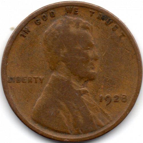 1928 P Philadelphia Lincoln Wheat Penny