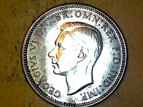 Australia 1943 Shilling Silver