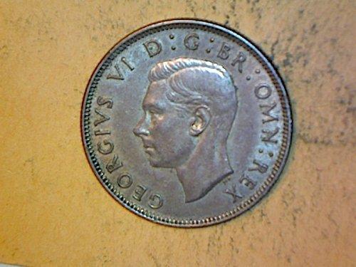 Great Britain 1943 2 Shilling Silver