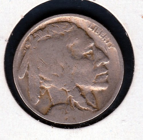 1929 P Buffalo Nickels - #12