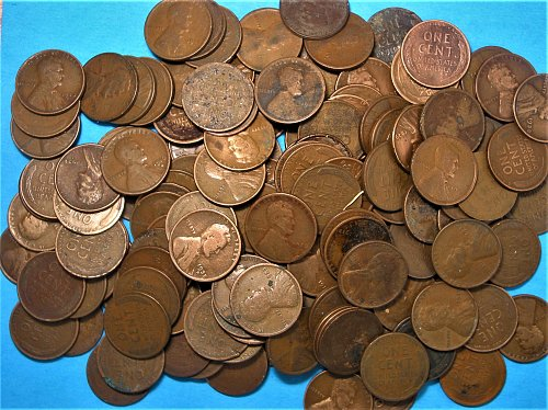 200 Lincoln Wheat Cent** 1909 - 1939