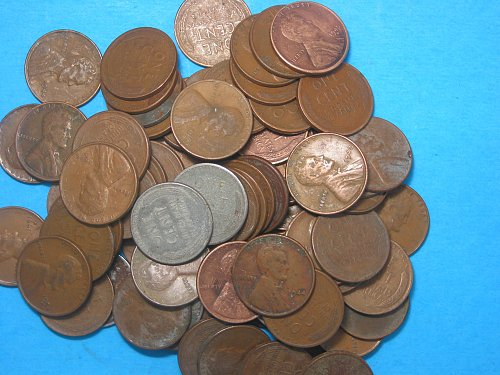 200 Lincoln Wheat Cents 1940-1958