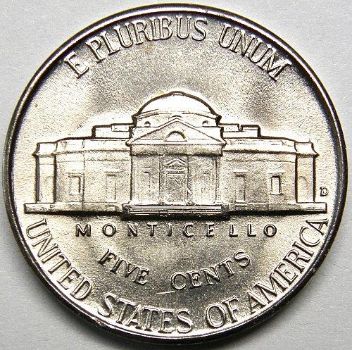 1946 D Jefferson Nickel #5
