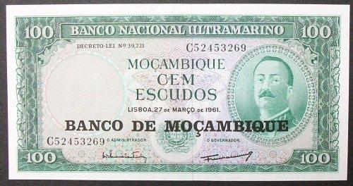 Mozambique P117a 100 Escudos UNC64