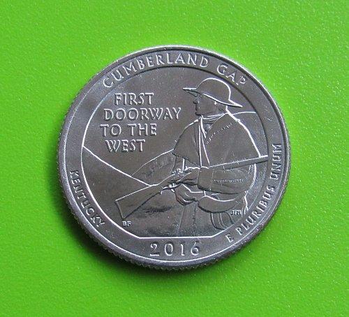 2016-D 25 Cents - Cumberland Gap (Kentucky) America the Beautiful Quarter