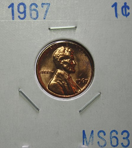 1967 Lincoln Memorial Cent