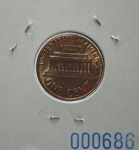 1978 Lincoln Memorial Cent