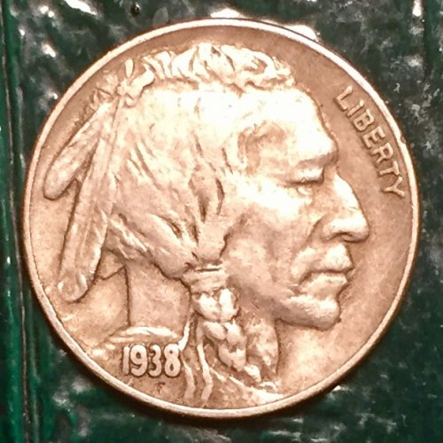 1938D Buffalo Nickel