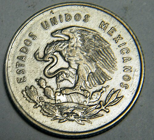 1953 25 centavos Mexico