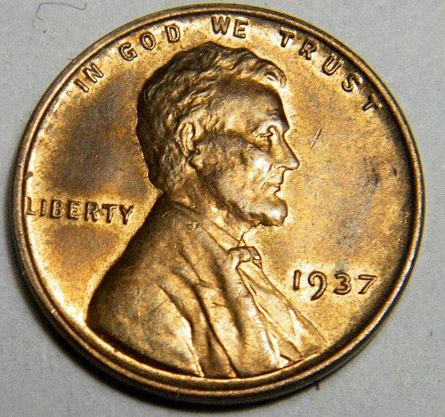 1937 P Lincoln Wheat Cent