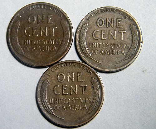 Wheat cent coin LOT 1926 D 1927 D 1927 ADDITIONAL COINS SHIP FREE