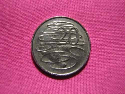 1981 Australia 20 cents
