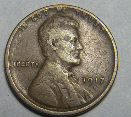 1917 D Lincoln Wheat Cent