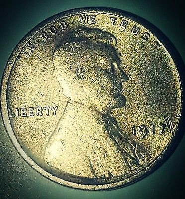1917-p DDO MCGS EARLY STRUCK ERROR FOUND IN ANTIQUE