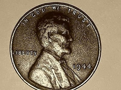 1944 1C RD Lincoln Cent