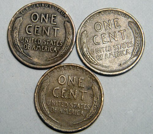 Wheat cent coin LOT 1939 S 1938 D 1937 S ADDITIONAL COINS SHIP FREE