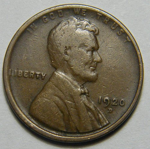 1920 D Lincoln Wheat Cent   218250   B4