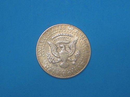 1964-D Kennedy Half Dollar ** Sharp Unc Details ** 90% Silver