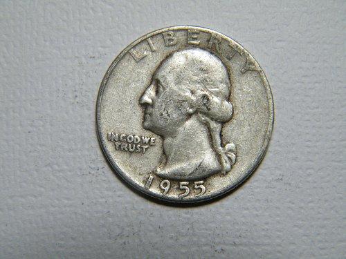 1955 P Washington Quarter  ADDITIONAL COINS SHIP FREE