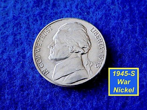 "1942-P Silver War-Time Nickel  ☆ ""UNC"" ☆   (#6437)a"