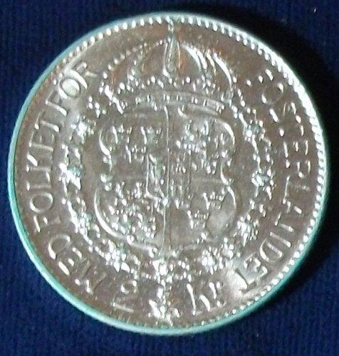 1940 Sweden 2 Kronor AU+