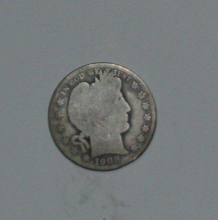 *SILVER* COLLECTIBLE *SILVER* 1908-O BARBER HALF DOLLAR....GOOD+....16C....