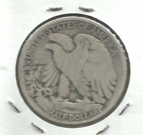 1919  S  WALKER HALF DOLLAR