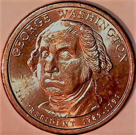 2007 D George Washington Presidential Dollar