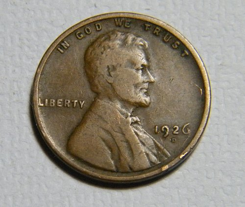 1926 D Lincoln Wheat Cent  D28