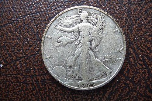 1944-D Walking Liberty Half Dollar