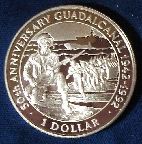 1992 Solomon Islands Dollar Silver Proof