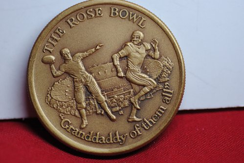 """1974 """"Granddaddy of them all"""" Rose Bowl and Pasadena 100 year celebration.  Very"""