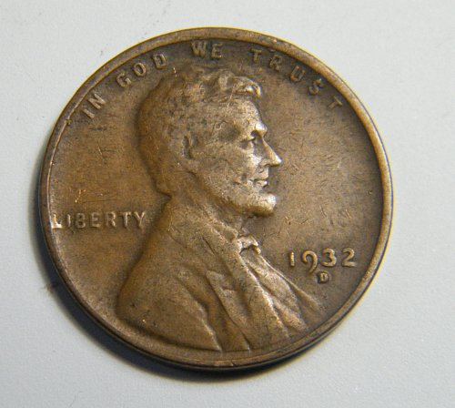 1932 D Lincoln Wheat Cent  H8
