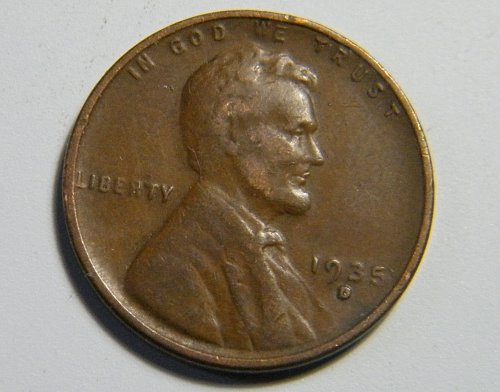 1935 D Lincoln Wheat Cent H11