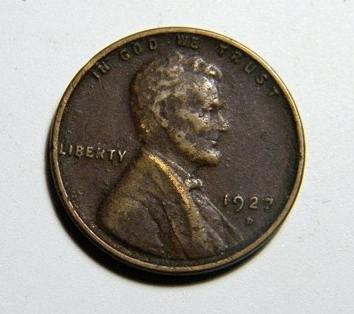 1927 D Lincoln Wheat Cent C2