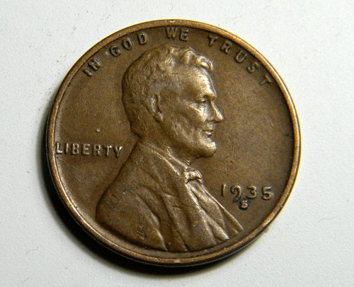 1935 S Lincoln Wheat Cent C7