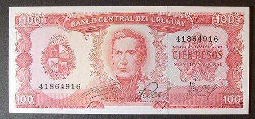Uruguay P47 100 Pesos UNC64