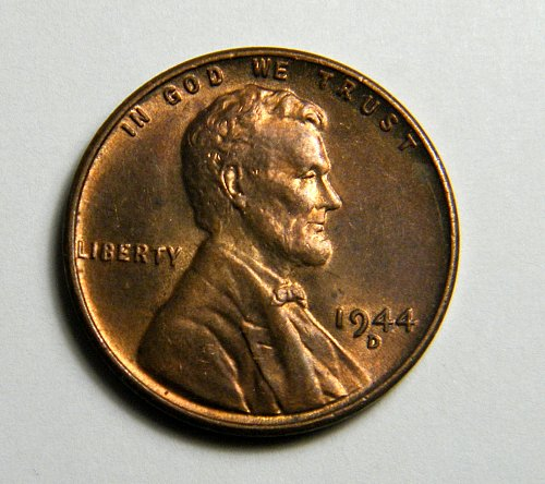 1944 D Lincoln Wheat Cent  h16