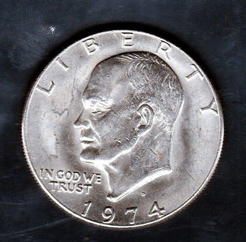 1974 D Eisenhower Dollars