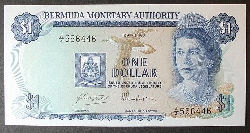 Bermuda P28b Dollar UNC64