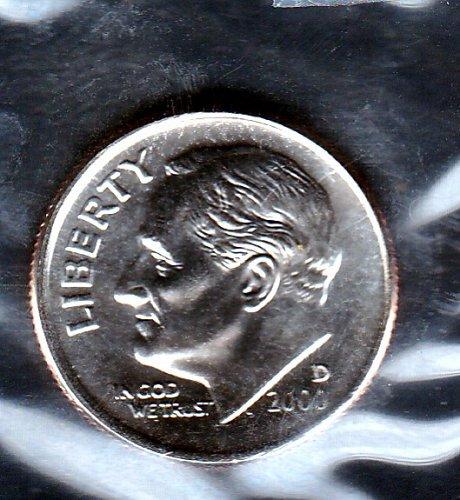 2000d BU Roosevelt Dime -3