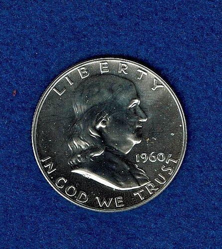 Franklin 1960  Proof Half Dollar